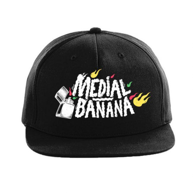 Šiltovka Medial Banana Snapback Banana Blaze čierna