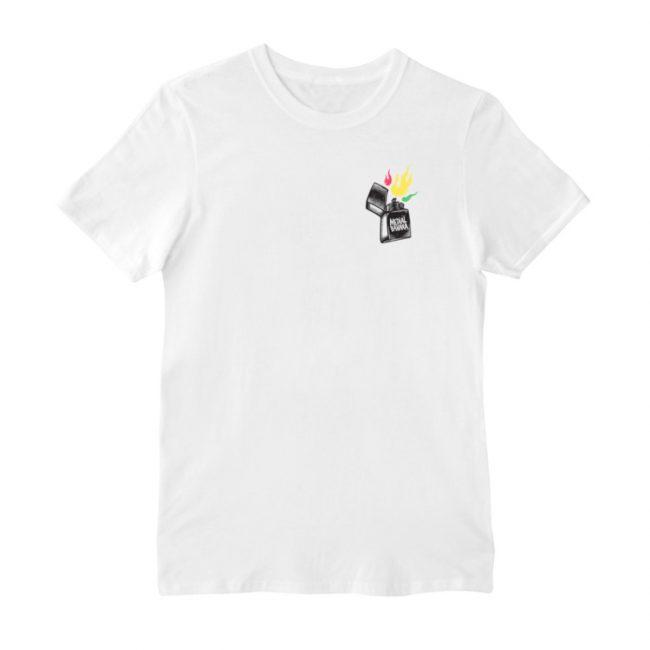 Pánske tričko Medial Banana Fayah Blaze biele