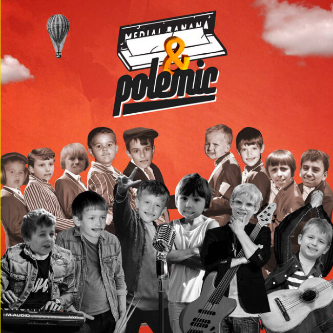 Medial Banana & Polemic Staré časy cover